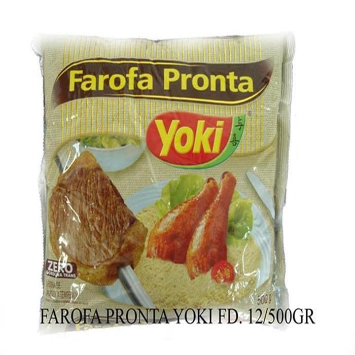 FAROFA PRONTA YOKI FD. 12/500G