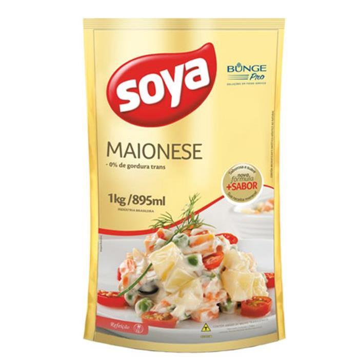 MAIONESE SOYA SACHE CX 6/1KG