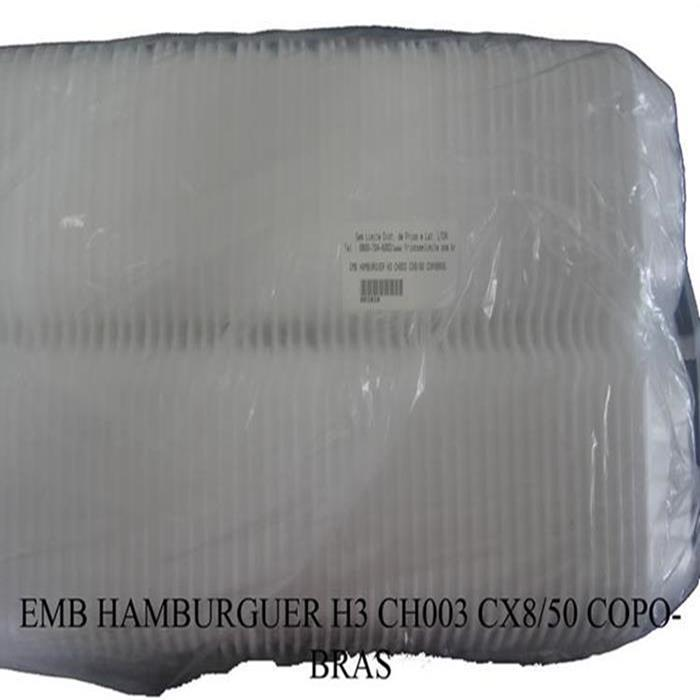 EMB HAMBURGUER H3 CH003 CX400UN COPOBRAS
