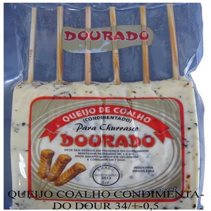 QUEIJO COALHO CONDIMENTADO DOUR 20P/+-8K