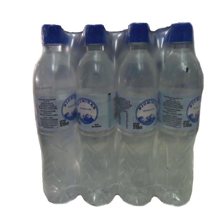 AGUA MINERAL 12X510ML BIOMINAS