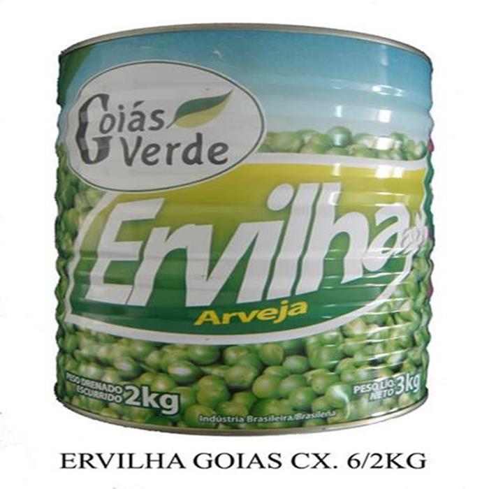 ERVILHA BONARE GOIAS VERDE CX. 6/2KG
