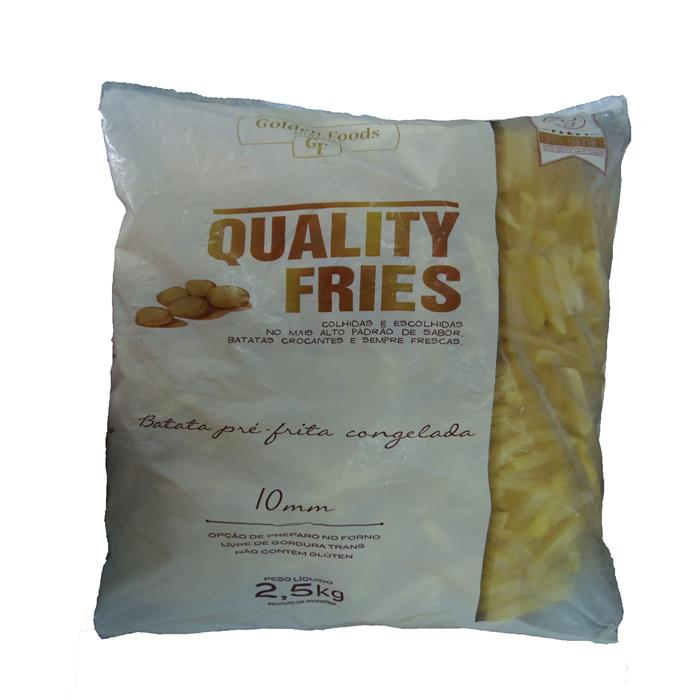 VEG BATATA PALITO QUALITY FRIES 5/2,5KG