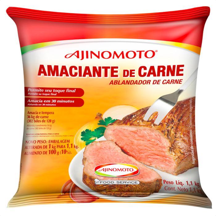 AMACIANTE DE CARNES AJINOMOTO CX.6/1,01K
