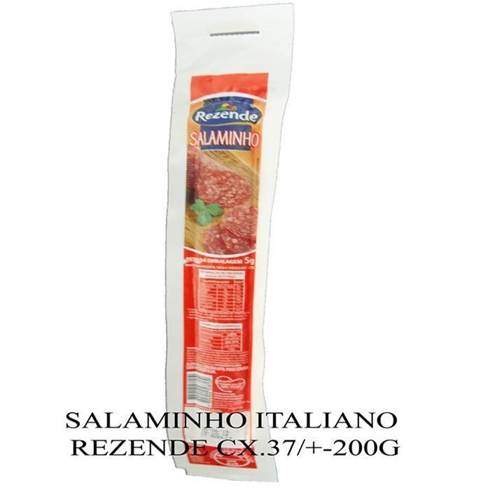 SALAMINHO ITALIANO REZENDE CX.37/+-200G