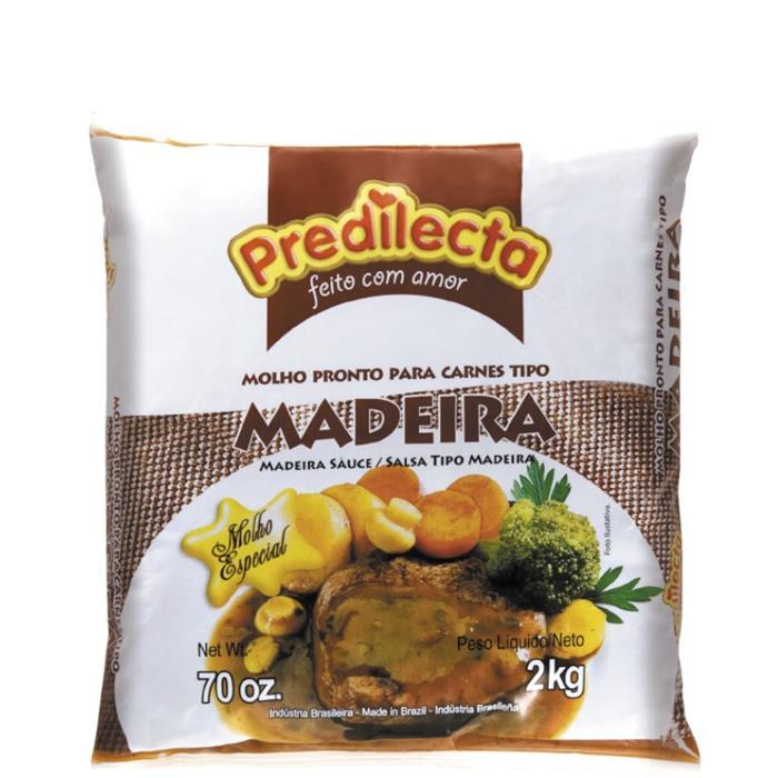 MOLHO MADEIRA BAG PREDILECTA CX.8/2KG
