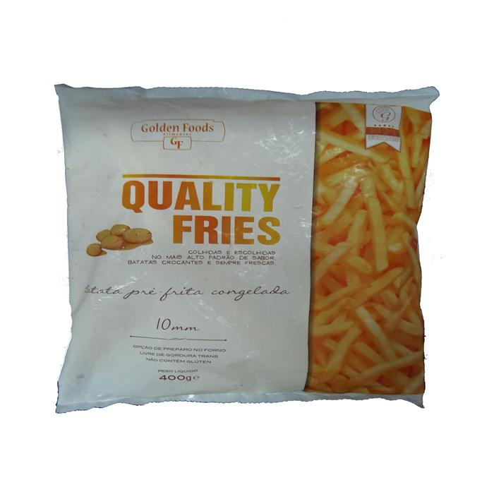 VEG BATATA PALITO 25/400GR QUALITY FRIES