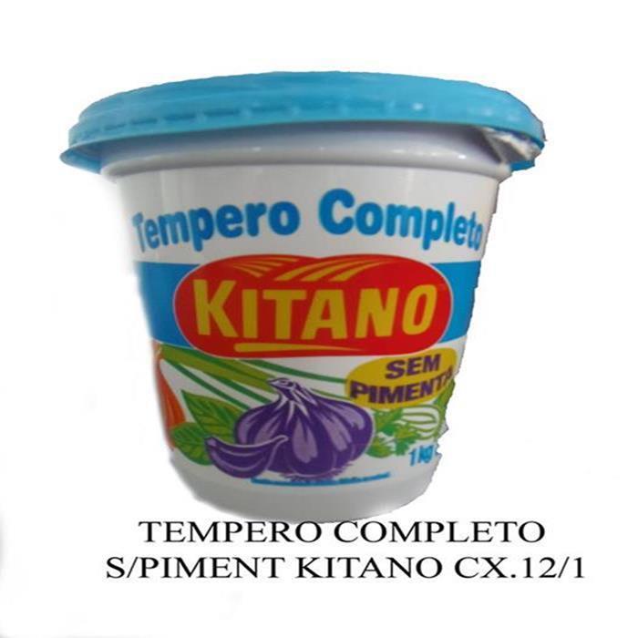 TEMPERO COMPLETO S/PIMENT KITANO CX.12/1