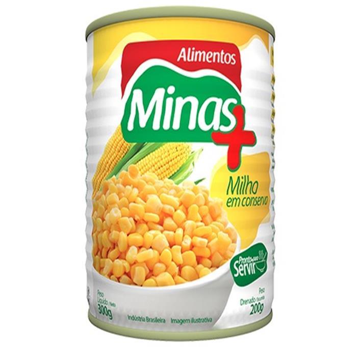 MILHO VERDE 24/200G MINAS MAIS
