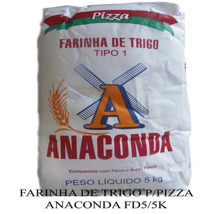 FARINHA DE TRIGO P/PIZZA ANACONDA FD5/5K