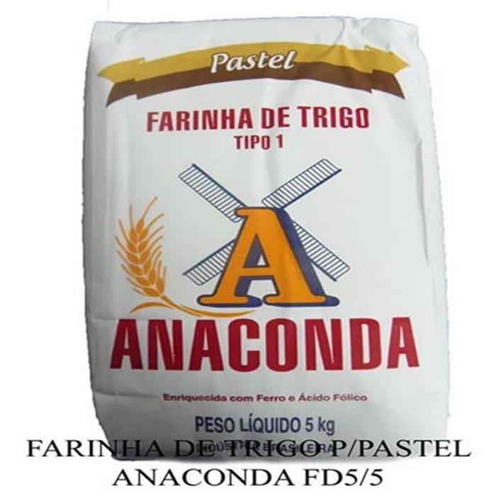 FARINHA DE TRIGO P/PASTEL ANACONDA FD5/5