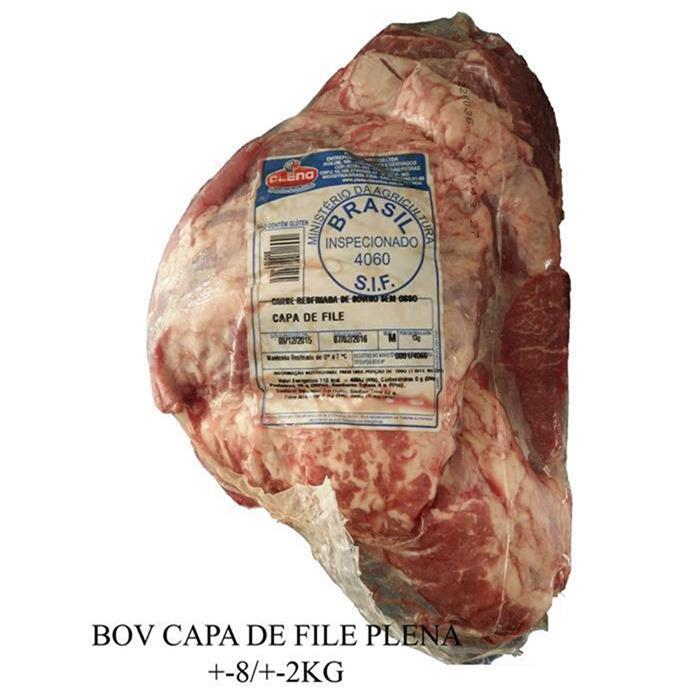 BOV CAPA DE FILE PLENA CX +-8PC/+-16KG