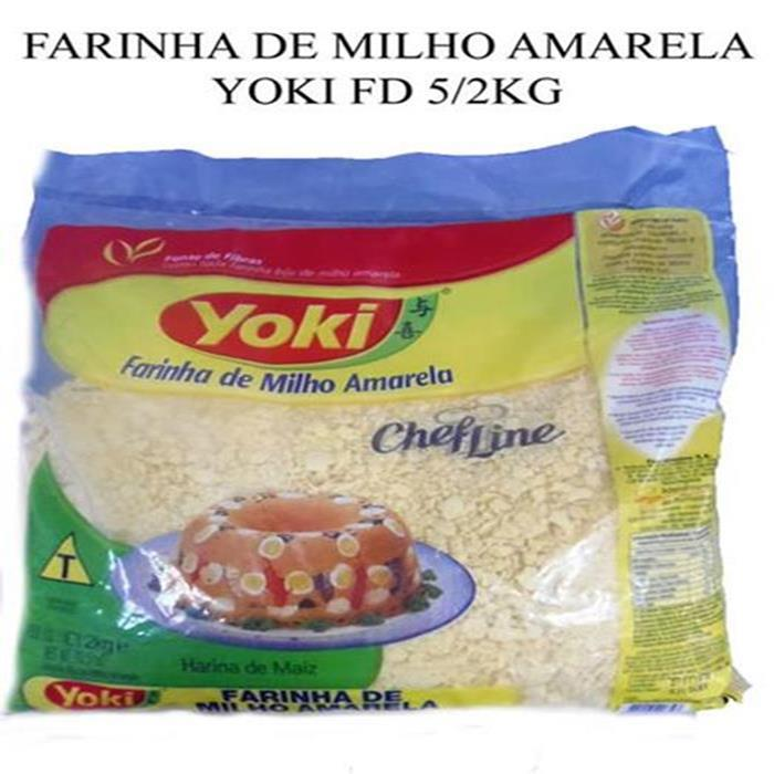 FARINHA DE MILHO AMARELA YOKI FD 5/2KG