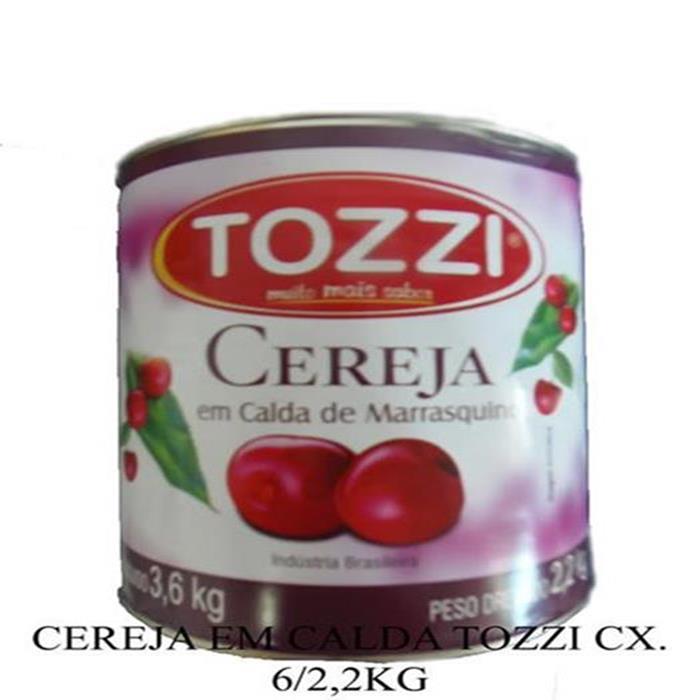 CEREJA EM CALDA TOZZI CX. 6/2,2KG