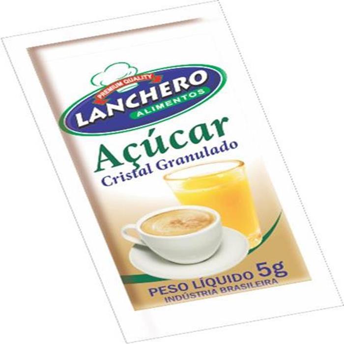 ACUCAR SACHE GRANULADO LANCHER CX.400/5G