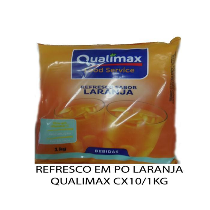 REFRESCO PO LARANJA QUALIMAX CX10/1KG