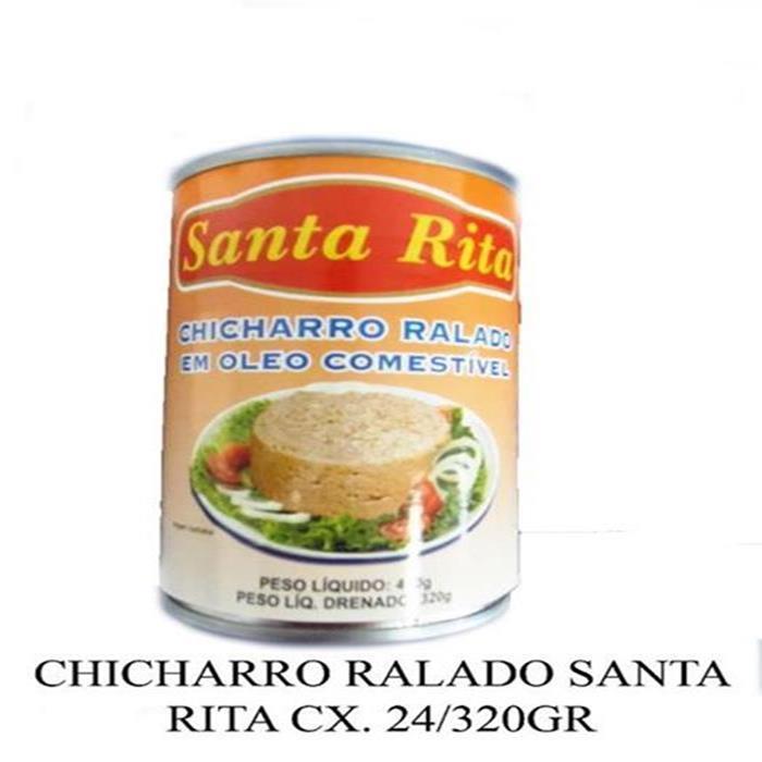 CHICHARRO RALADO SANTA RITA CX. 24/320GR