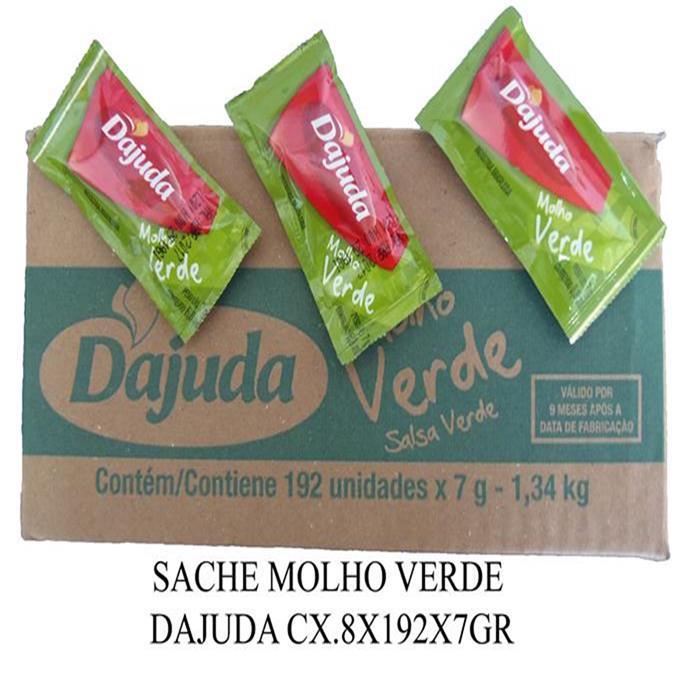 SACHE MOLHO VERDE DAJUDA CX.8X192X7GR