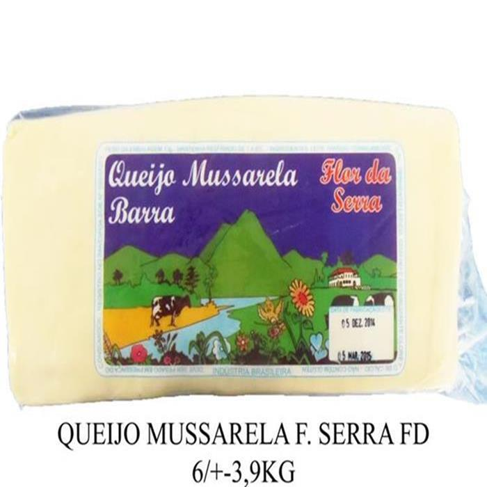 QUEIJO MUSSARELA F. SERRA FD 6/+-3,9KG