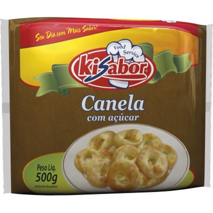 CANELA EM PO C/ ACUCAR KI SABOR 24/500GR