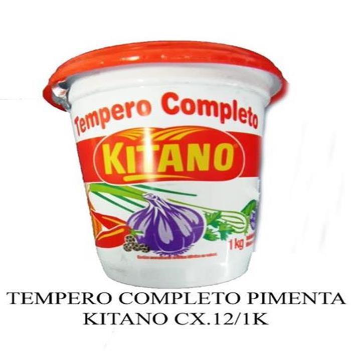 TEMPERO COMPLETO PIMENTA KITANO CX.12/1K