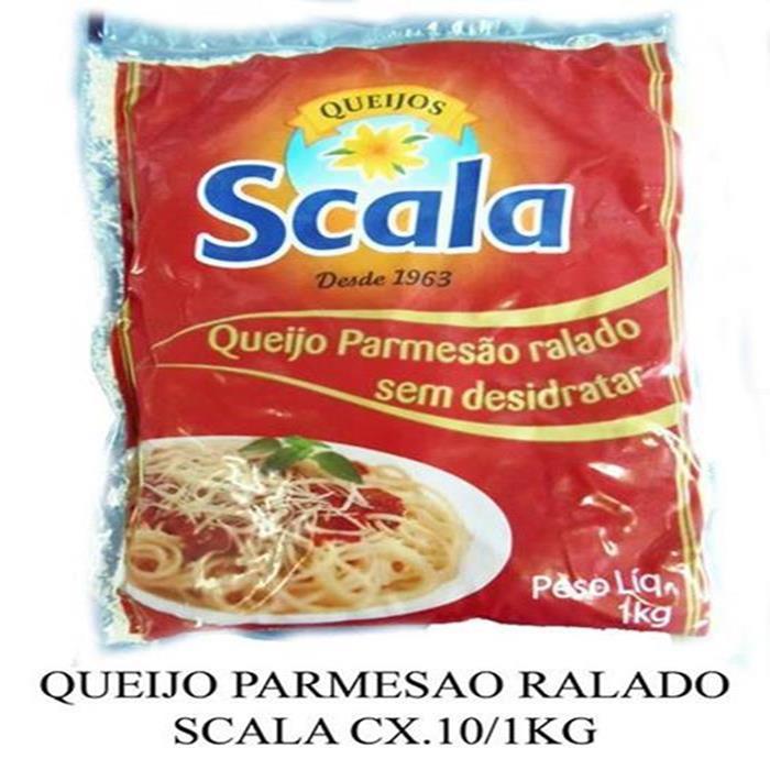 QUEIJO RALADO SCALA CX.10/1KG