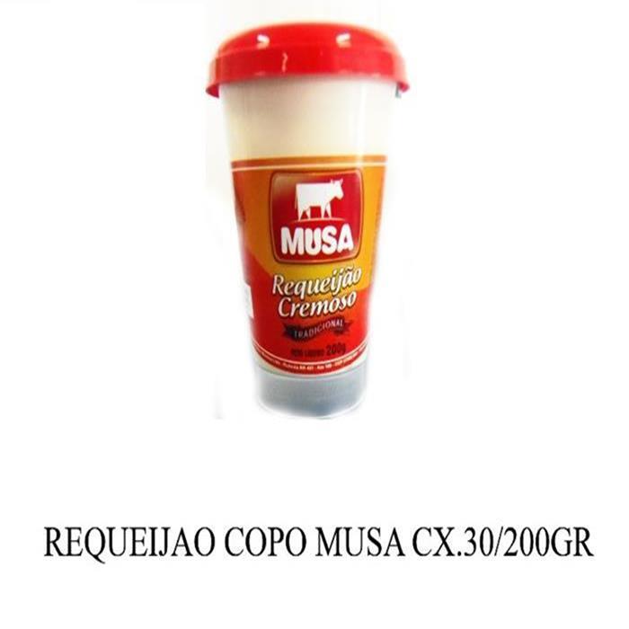 REQUEIJAO COPO MUSA CX.30/200GR