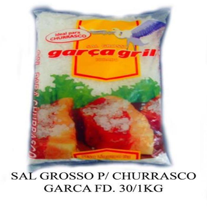 SAL GROSSO P/ CHURRASCO GARCA FD. 30/1KG