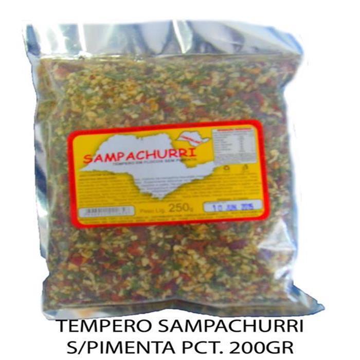 TEMPERO SAMPACHURRI S/PIMENTA PCT. 250GR
