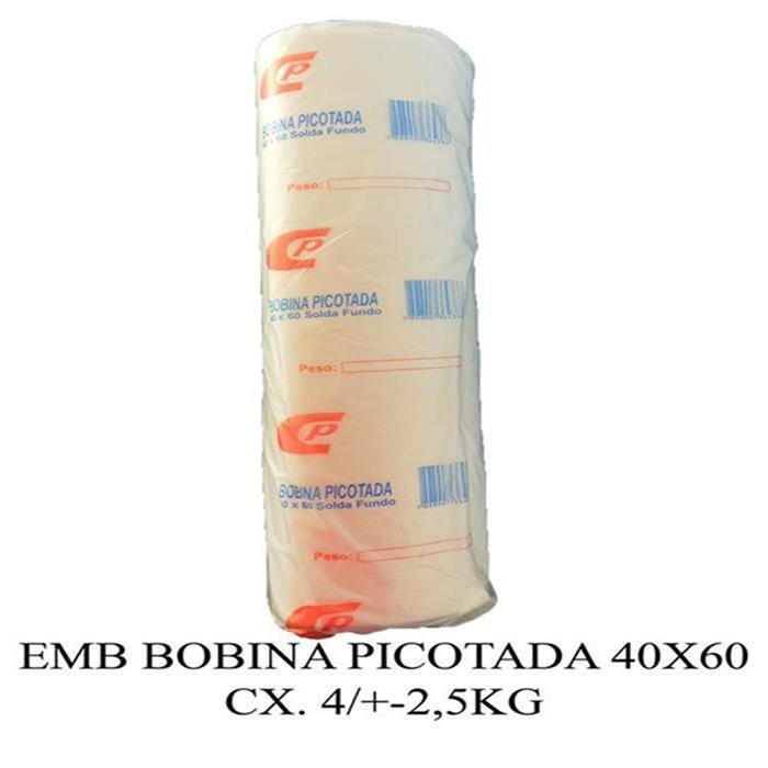 EMB BOBINA PICOTADA 40X60 CX. 4/+-2,5KG