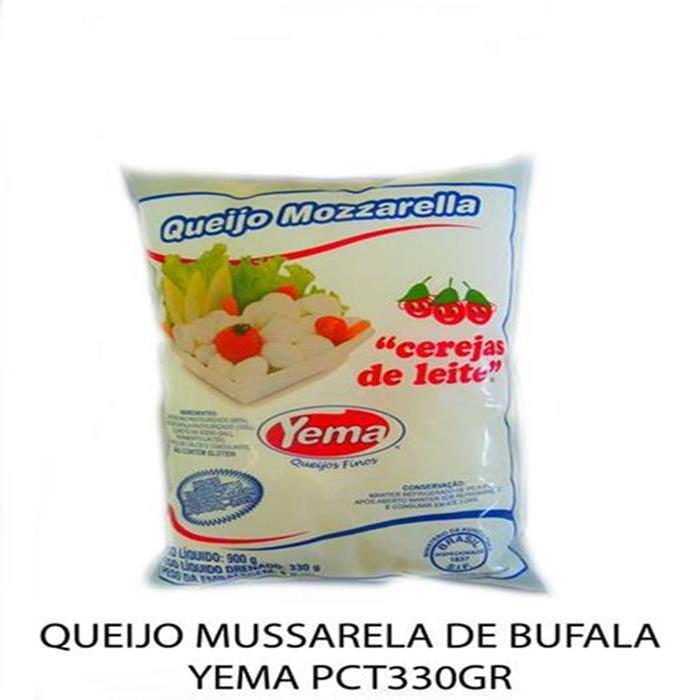 QUEIJO MUSSARELA DE BUFALA YEMA PCT330GR