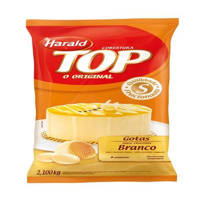 CHOC TOP GOTAS BRANCO HARALD CX.5/2,1KG