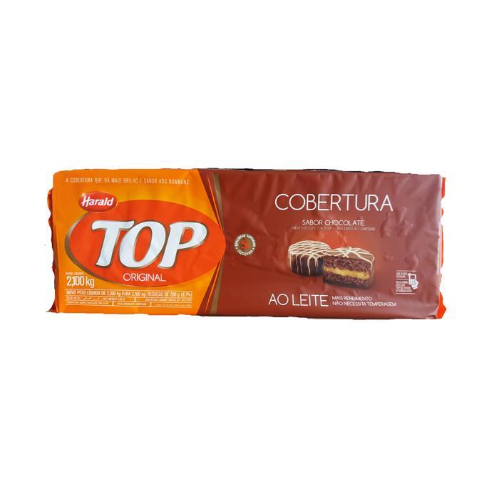 CHOC TOP COBERTURA AO LEITE HARALD 6/2,3