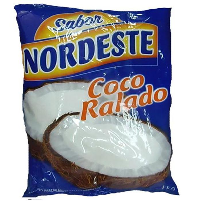 COCO RALADO UMIDO ADOCADO NORDESTE 10/1K