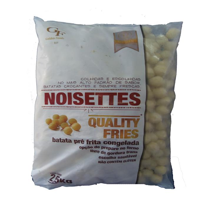 VEG BATATA NOISETTES QUALITY FRIES 5/2,5