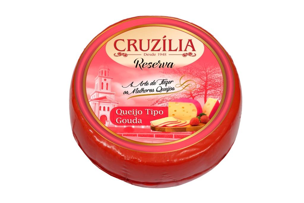 QUEIJO GOUDA CRUZILIA CX.2PC/CX+-5,50KG