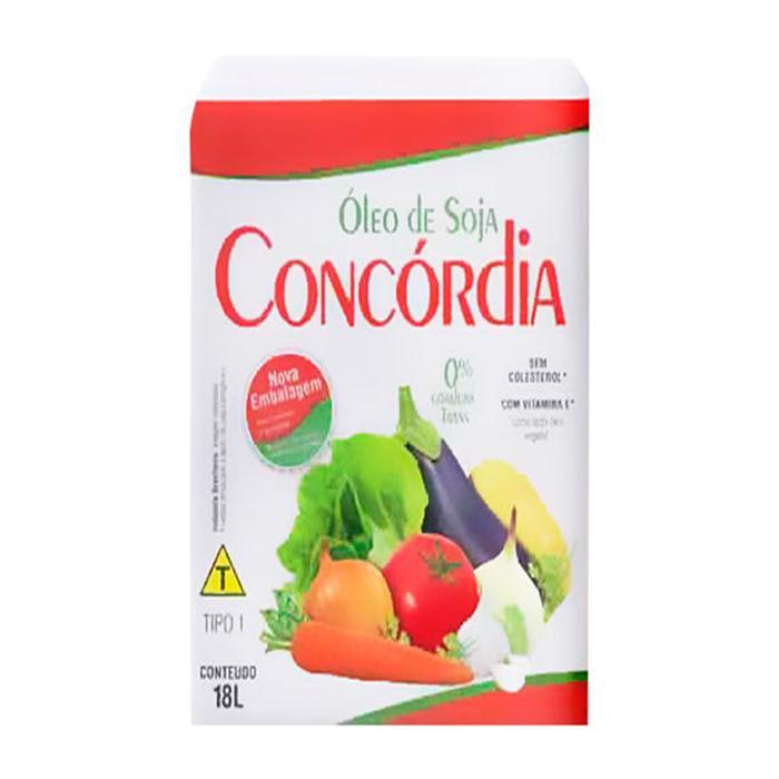 OLEO DE SOJA BAG CONCORDIA 18LT