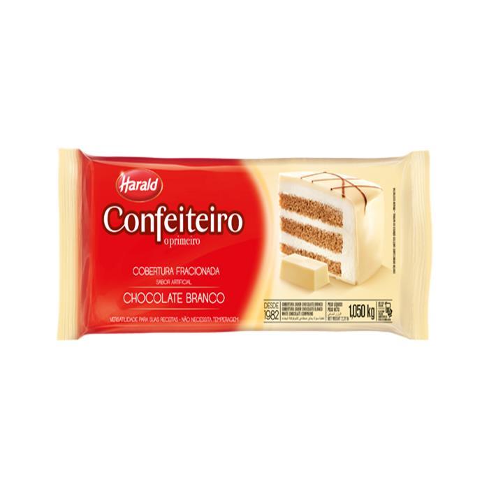 CHOC CONF FRAC. BRANCO HARALD 10/1,05 KG