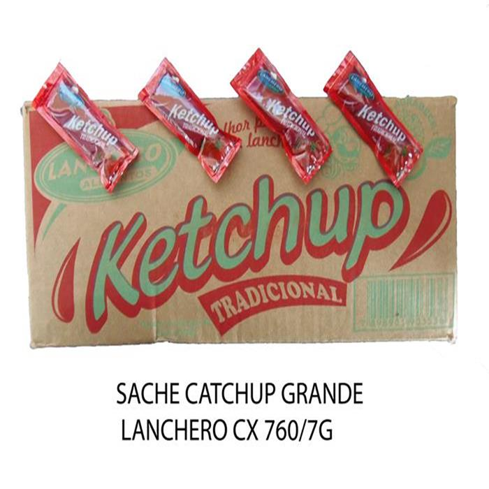 SACHE CATCHUP GRANDE LANCHERO CX 760/7G