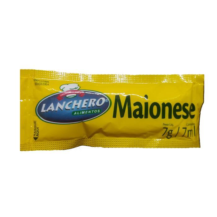 SACHE MAIONESE PEQ. LANCHERO 12/190 X 7G