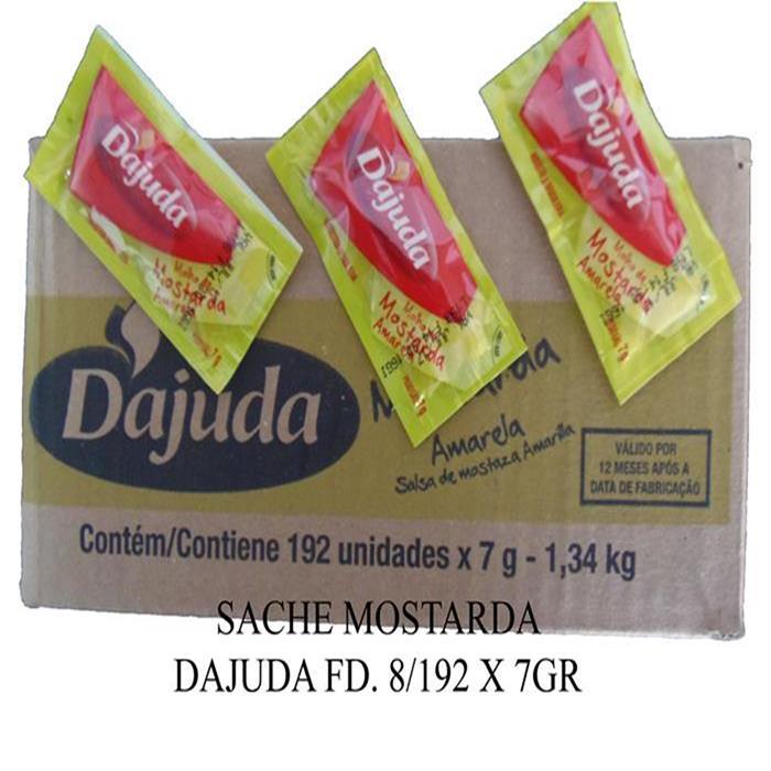SACHE MOSTARDA DAJUDA FD. 8/192 X 7GR