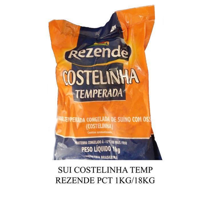 SUI COSTELINHA TEMP REZENDE PCT 1KG/18KG