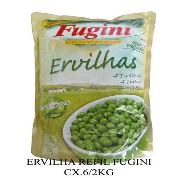 ERVILHA REFIL FUGINI CX.6/2KG