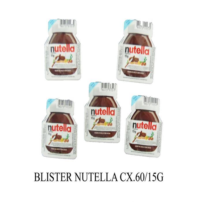 BLISTER NUTELLA CX.60/15G