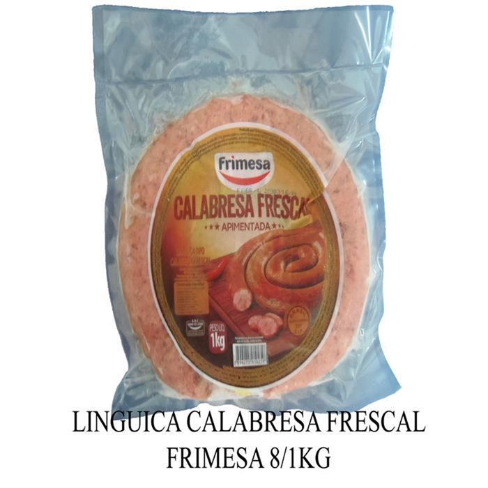 LINGUICA CALABRESA FRESCAL FRIMESA 8/1KG