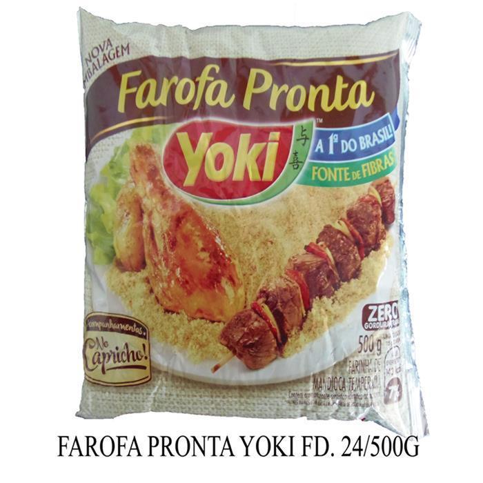 FAROFA PRONTA YOKI FD. 24/500G
