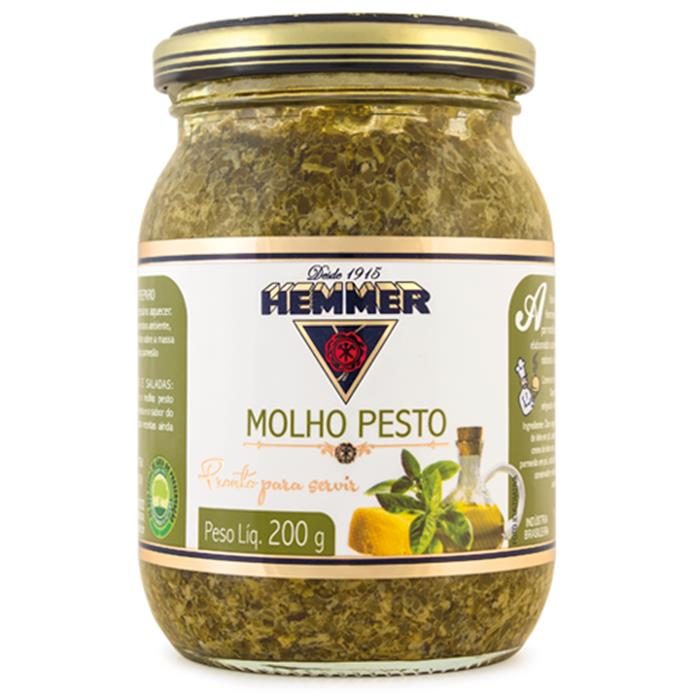 HEMMER MOLHO PESTO CX 6/200 GR