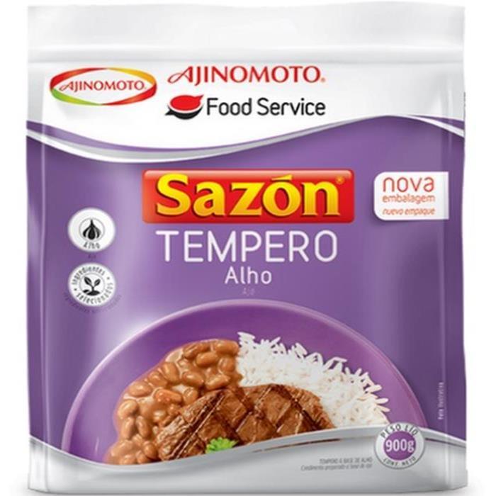 SAZON TEMPERO ALHO CX. 6/900GR