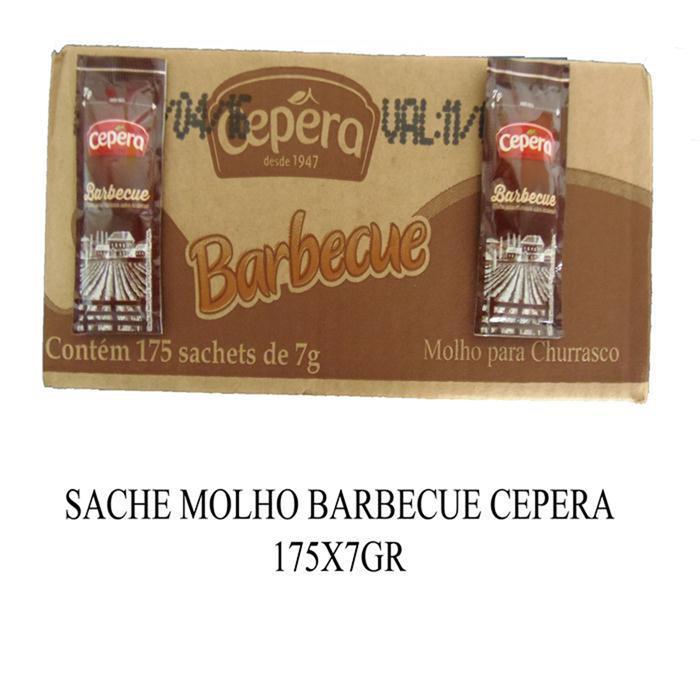 SACHE MOLHO BARBECUE CEPERA 175X7GR