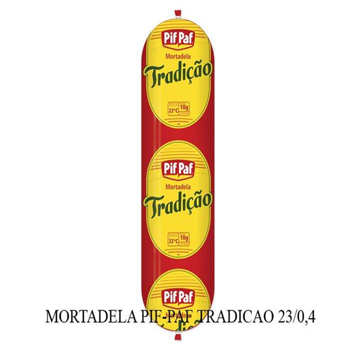 MORTADELA PIF-PAF TRADICAO CX23/0,40GR